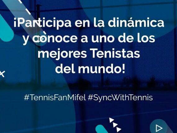 Gana experiencias Meet & Greet con jugadores del Abierto de Tenis Mifel