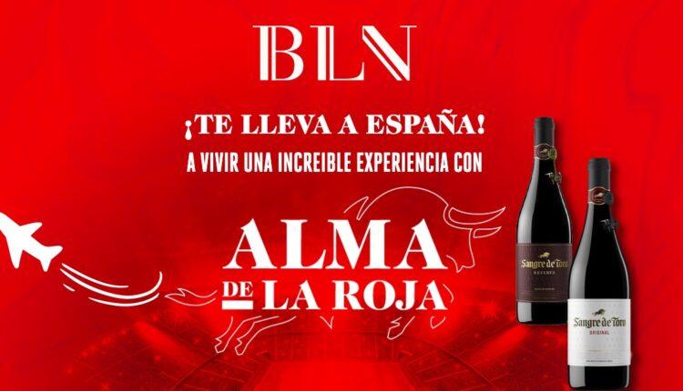 Promoción Sangre de Toro Alma de la Roja: Gana viaje a España y premios de la Selección de España en almadelaroja.mx