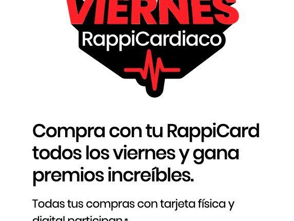 Concurso Rappi Card Viernes Rappicardiaco 30 de julio: Gana PlaySation 5, Galaxy Tab y más