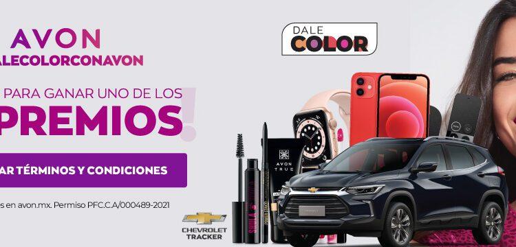 Promoción Avon Dale Color 2021: Gana una camioneta, celulares y más en avon.mx