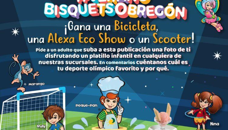 Concurso Bisquets Obregón: Gana scooter eléctrico, bicicleta o un Echo Show