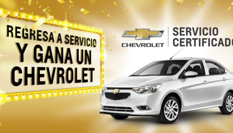 Promoción Chevrolet Servicio Regresa y Gana un auto Aveo 2022 en regresayganaconchevrolet.com.mx