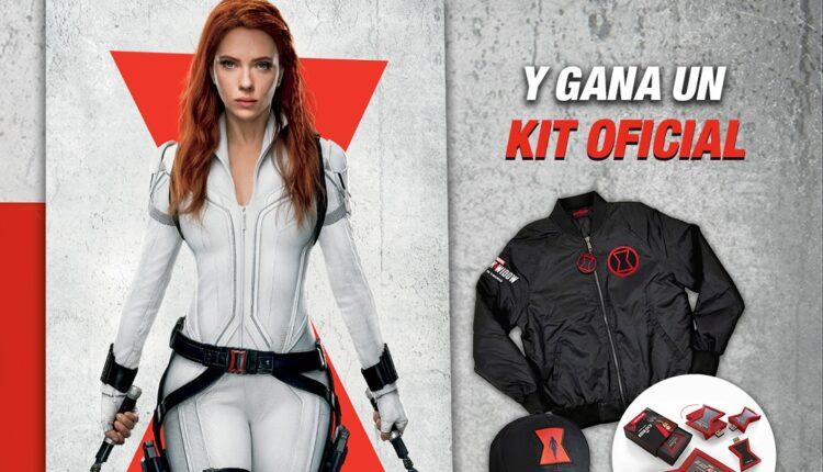 Promoción Cinemex Black Widow: Gana 1 de 5 kits oficiales con chamarra y más
