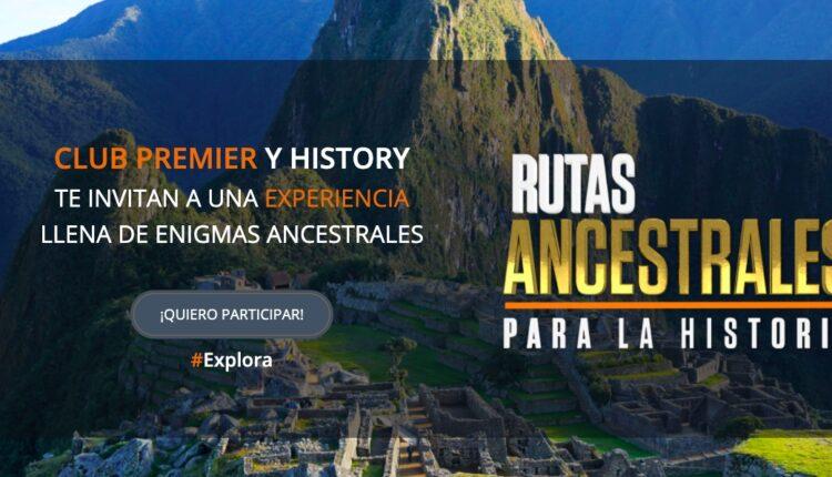 Concurso Aeroméxico Club Premier y History Channel Rutas Ancestrales: Gana viaje enigmático a Machu Picchu
