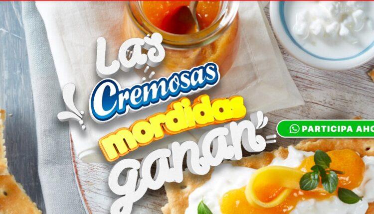 Promoción Galletas Dondé Cremosas Mordidas Ganan: participa por $1,000 al día en lascremosasmordidasganan.com