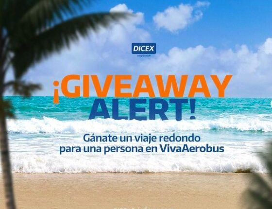Giveaway Dicex: Gana un vuelo redondo por Viva Aerobus