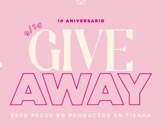Giveaway Enviaflores 14 Aniversario: Gana $800 en EnviaFlores.com