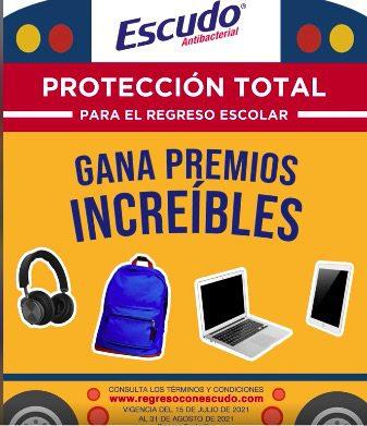 Concurso Escudo Regreso a Clases 2021: Gana laptop, tablets y más en regresoconescudo.com