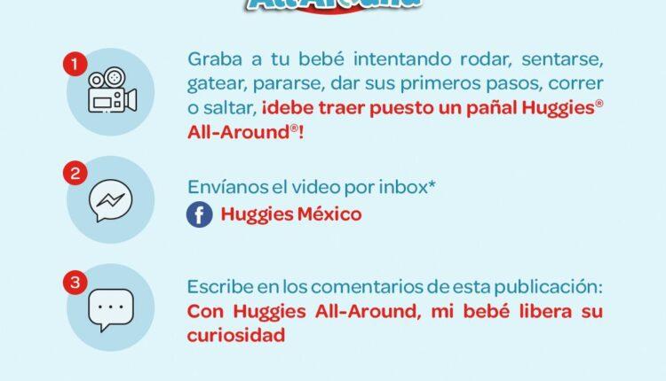 Concurso Huggies All Around: Gana 3 meses de pañales gratis