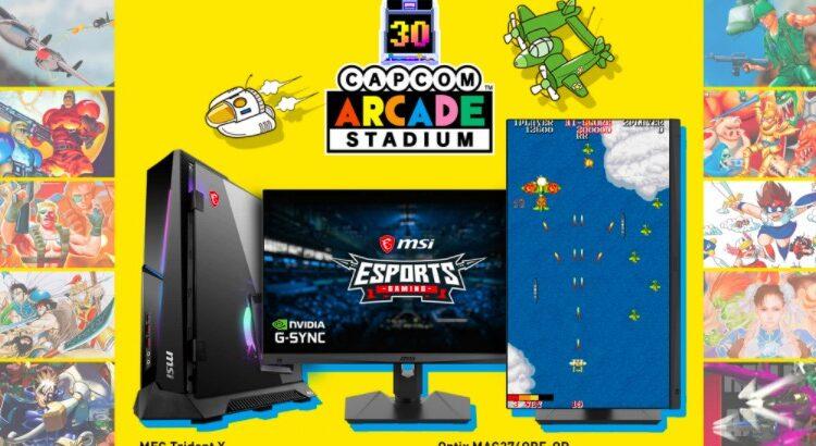 Concurso MSi y Capcom: Gana un Joystick Xtension Arcade y Clave de Steam para Capcom Arcade Stadium