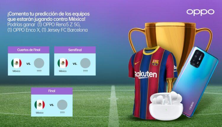 Concurso OPPO Copa Oro: Gana un OPPO Reno5 Z 5G, audífonos Enco Air y jersey del Barcelona