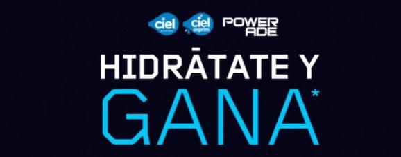 Promoción Powerade Hidrátate y Gana Nintendo Switch, bocinas y más en hidratateygana.com