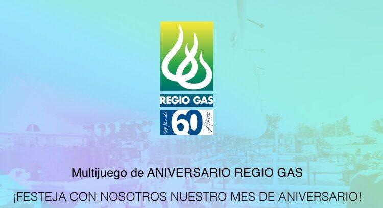 Concurso Aniversario Regio Gas 2021: Juega y gana recargas de gas gratis y más