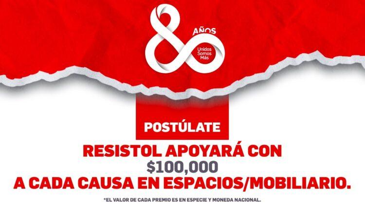 Concurso Resistol 80 Aniversario: Gana $100,000 en remodelación para tu causa en resistol80aniversario.com