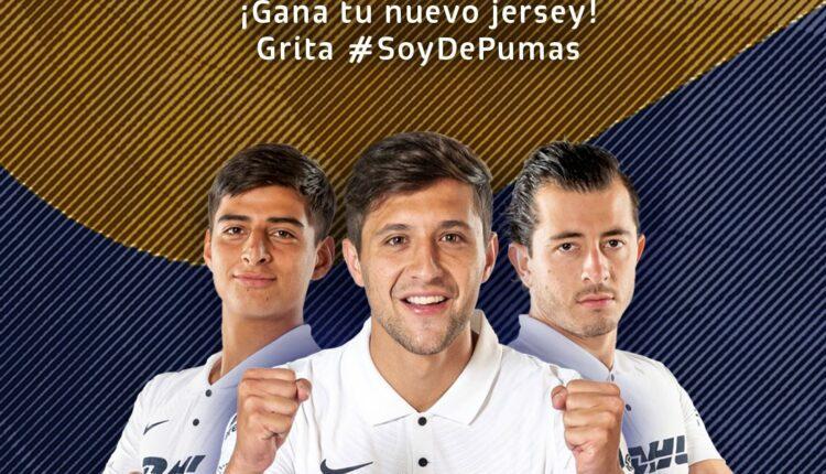 Gana 1 de 5 jerseys de la próxima temporada de los Pumas