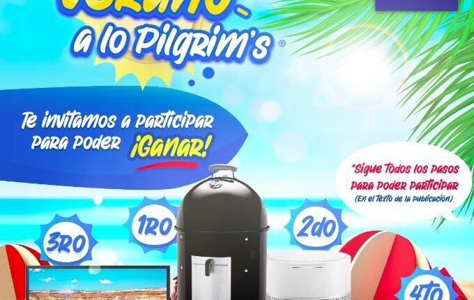 Giveaway Verano a lo Pilgrim's: Gana pantalla, asador y más
