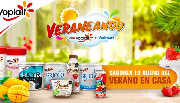 Promoción Walmart Veraneando con Yoplait: Gana un auto Chevrolet Beat y más en veraneando.mx