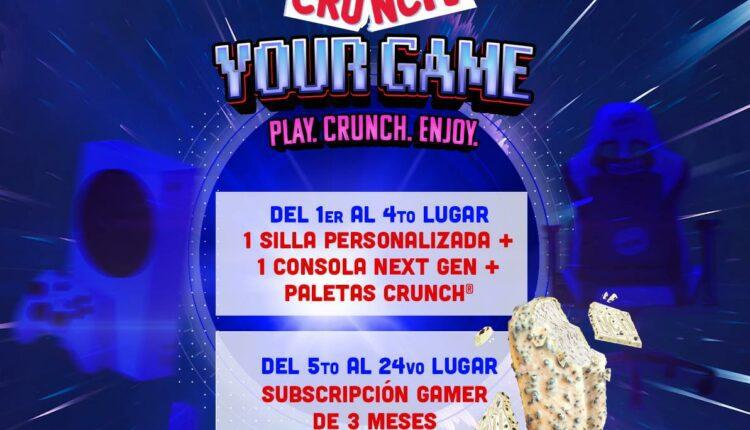 Concurso Crunch Mes del Gamer: Gana consolas Xbox, sillas gamer y más