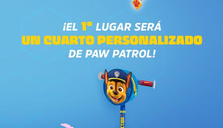 Concurso Patrulla Danonino Paw Patrol: Gana un cuarto personalizado de Paw Patrol y kits