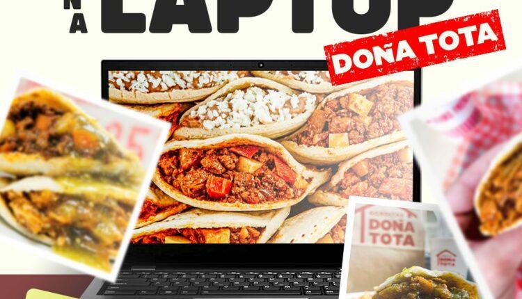 Gánate una laptop Lenovo en el concurso de Doña Tota