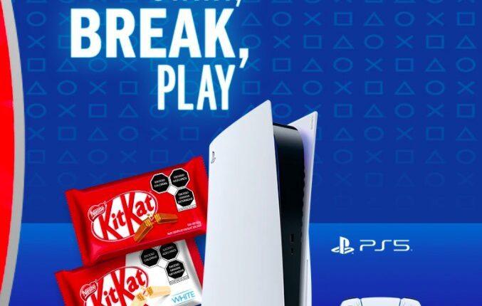Promoción KitKat PS5: Gana 1 de 16 consolas PlayStation 5, controles y más en kitkat.com.mx