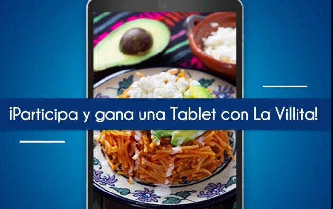 Concurso La Villita: Gana 1 de 3 tablets Samsung Galaxy Tab A
