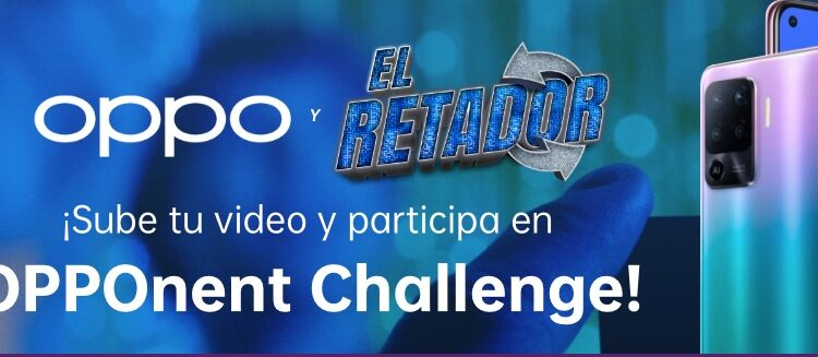 OPPOnent Challenge El Retador: Gana celulares OPPO Reno 5 Lite cada semana en opponentchallenge.com