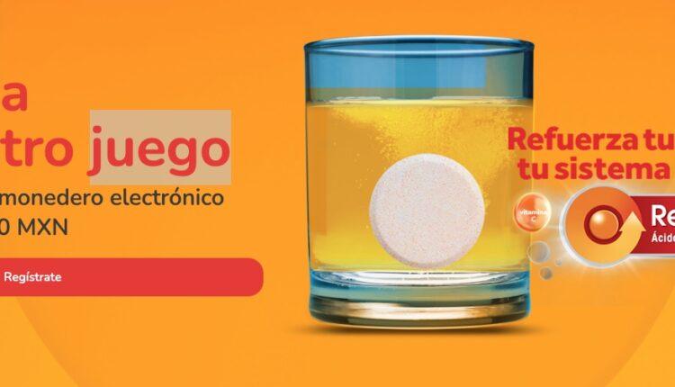Promoción Redoxon AOX: Gana 1 de 10 monederos electrónicos de $1,000 para Amazon o Liverpool