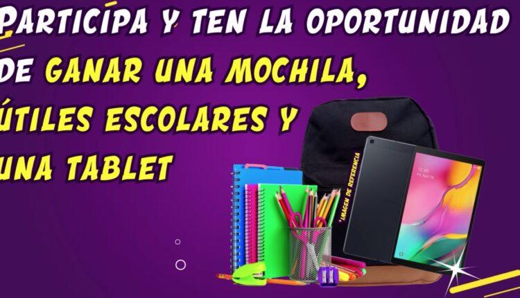 Concurso S-Mart y Nestlé regreso a Clases: Gana 1 de 3 kits con tablet, mochila y útiles