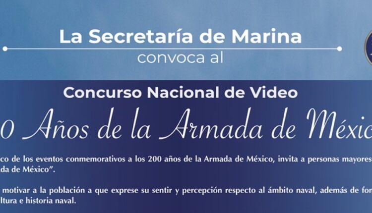 Concurso de video Semar 200 Años de la Armada de México: Gana cámaras de video y accesorios