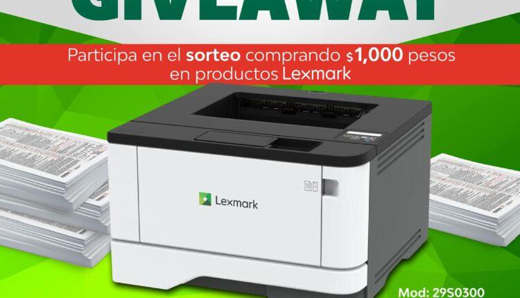 Gana una impresora multifuncional Lexmark cortesía de PCEL
