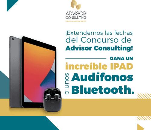 Gana un iPad en el concurso de Advisor Consulting