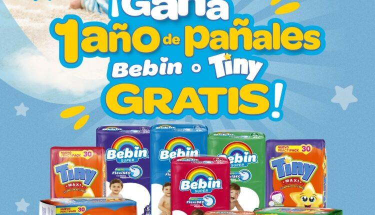 Gana 1 año de pañales Gratis cortesía de Bebín y Super Lagunitas