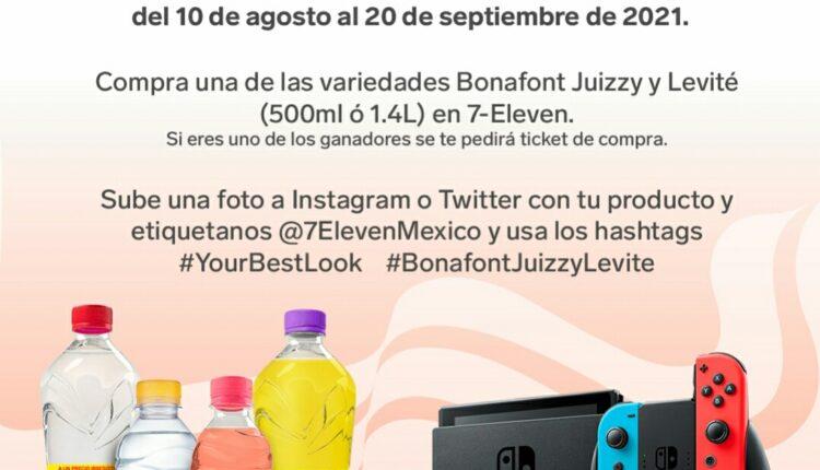 Concurso Bonafont 7-Eleven Your Best Look: Gana Nintendo Switch, bocinas Echo Dot y más