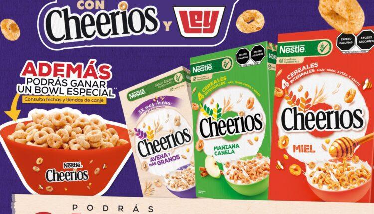 Promoción Cheerios y Casa Ley Tu Mejor Minuto: Gana todo lo que puedas meter en tu carrito en 1 minuto
