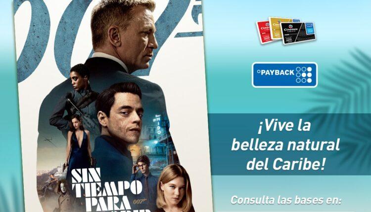Promoción Cinemex 007 James Bond Sin Tiempo Para Morir: Gana viaje en crucero