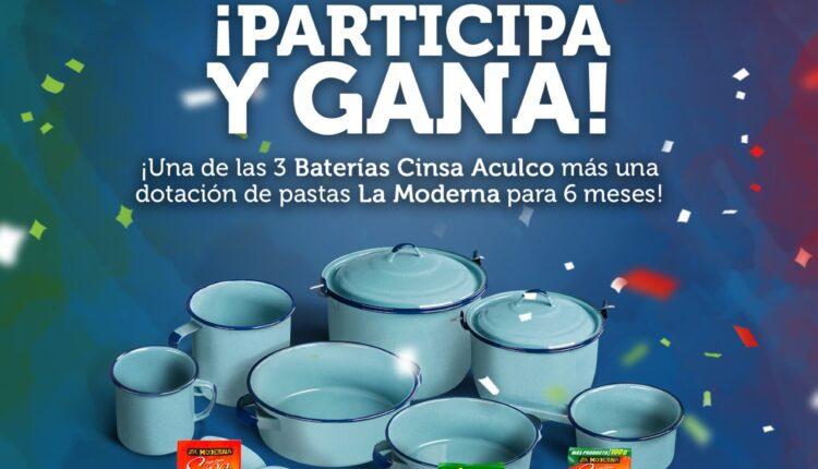 Concurso Cinsa Fiestas Patrias 2021: Gana batería de cocina + 6 meses de pasta