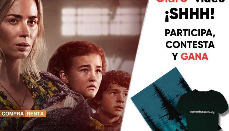 Gana 1 de 10 kits de Un Lugar en Silencio Parte II cortesía de Claro Video