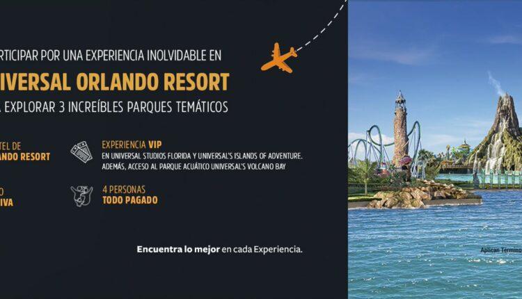 Promoción Universal Studios y Aeroméxico Club Premier: Gana viaje a Universal Orlando Resort