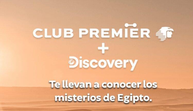 Promoción Discovery y Club Premier Misterios de Egipto: Gana viaje a Egipto