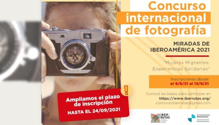 Concurso de foto Mujeres Migrantes Iber-Rutas 2021: Gana hasta US$1,500 dólares