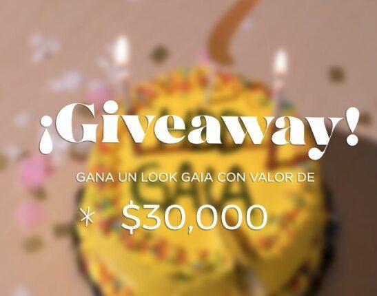Giveaway Gaia 7 Aniversario: Gana hasta $30,000 en muebles Gaia