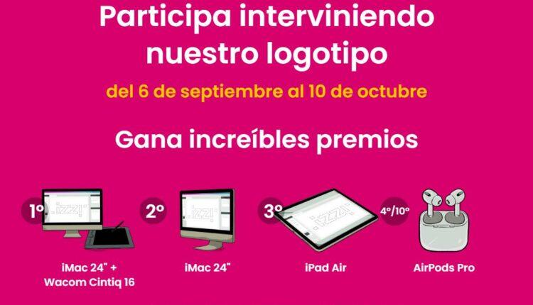 Concurso Loguizzimo 2021: Gana computadoras iMac, iPad Air o Airpods Pro en loguizzimo.mx