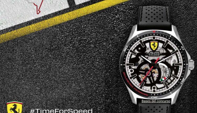 Concurso Las Carreras son Mi Pasión: Gana reloj Ferrari + Sky View Lounge en el GP de México de la Formula 1 y más en lascarrerassonmipasion.com.mx