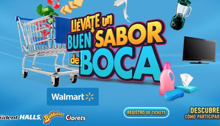 Promoción Llévate un Buen Sabor de Boca en Walmart: Gana tarjetas Walmart de hasta $48,000 en llevateloenwalmart.com