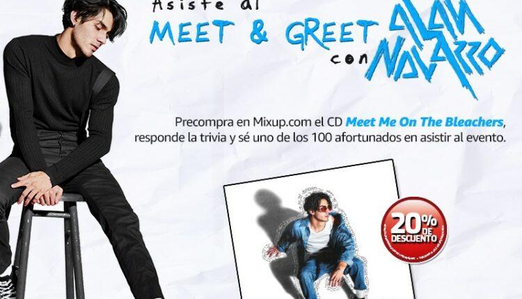 Gana 1 de 100 pases para el meet & greet con Alan Navarro cortesía de Mixup