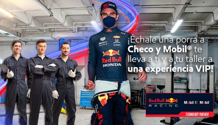 Concurso Mobil Échale una Porra a Checo: Gana experiencia VIP en la Formula 1 y más en echaleunaporra.com