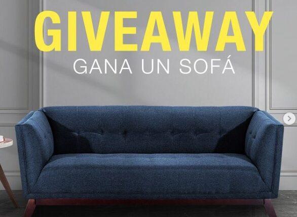 Giveaway Muebles Dico: Gana un sofá Kenya de la colección Roma Condesa