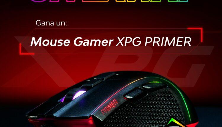 Gana un Mouse Gamer XPG Primer cortesía de PCEL