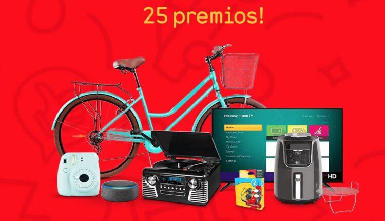 Concurso de Aniversario Oxxo Gas: Gana pantallas, bicis, tostadores vintage y más en vamosjuntospormas.com